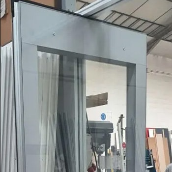 Tabique móvil Acustiflex Glass